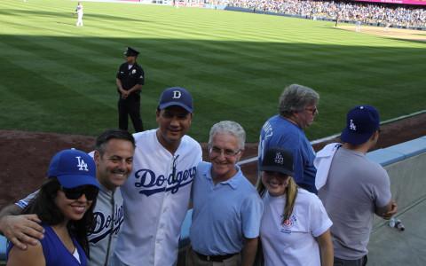 Blackman & Associates with LA City Councilmembers Joe Buscaino and Paul Krekorian.