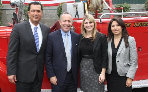 Blackman & Associates with California State Senate pro Tem Darrell Steinberg.