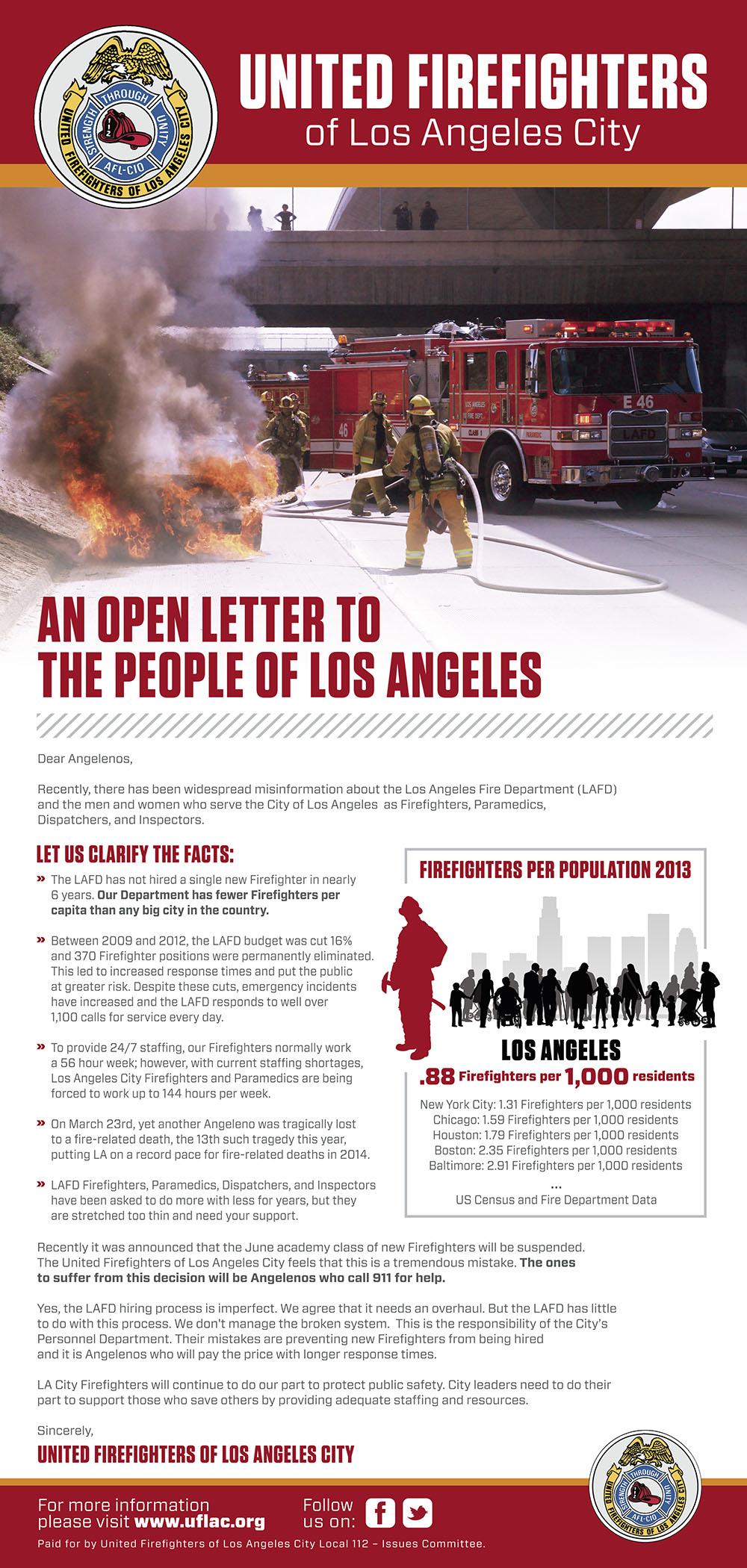 LA Times FF Ad