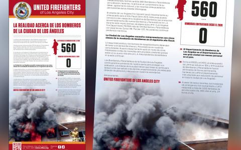 La Opinion Full Page Newspaper Ad - Spanish